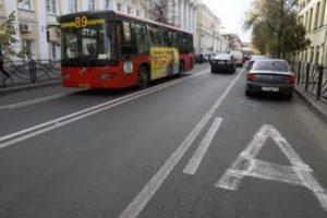 Езда по автобусной полосе