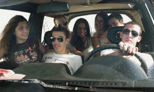 Перевозка лишнего пассажира в машине