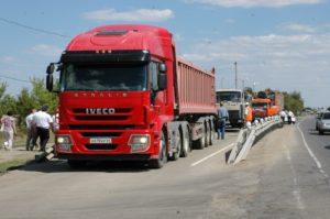 Перегруз грузового автомобиля