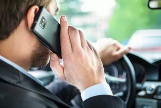 Сколько штраф за разговор по телефону 2018