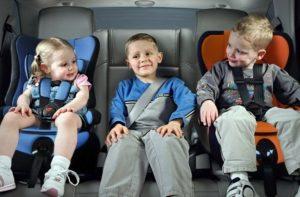 Основные правила перевозки детей до 12 лет в автомобиле по ПДД