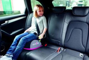 Правила перевозки детей на заднем сиденье